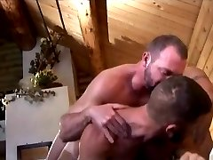 Hairy bears threesome