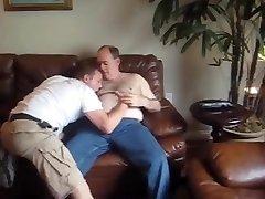 Daddy boinking son
