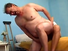 Old fellow fucked by junior boy