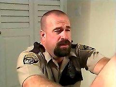 Bear Officer Fucks Suspect