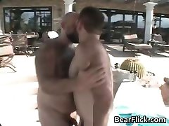Hair gay bear porn with Don James part6