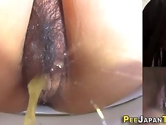 Asian nubiles cooch pissing