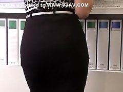 Amazing Japanese bitch Ai Komori in Crazy JAV flick