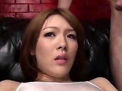 Facial Cumshot to end Reis nasty porn adventure