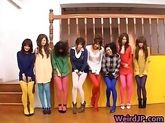 Japanese dolls peeing