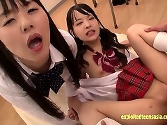 Abe Mikako Does Deep Rimming Shares Tonguing Jizm With Friend