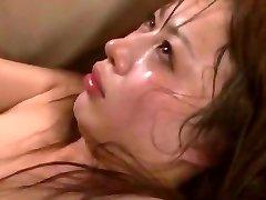 Super-naughty Japanese girl Mau Morikawa in Horny Cuckold, Gangbang JAV video