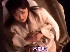 زن ژاپنی, ماساژ, انگشت, 5