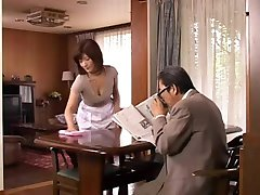 בוגר יפנית אמא הרצונות צעיר, זין