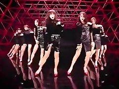 חם קוריאני בנות לרקוד. פורנו רך