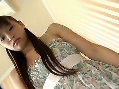 Aziatische Solo Meisje Nami Kimura Masturberen