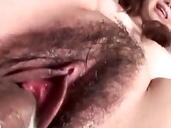 Jun Mise gets a big dick to increase her wet thicket