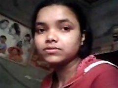 Indian echte Schwester Muschi fingured &amp_ Brüste gepresst von den eigenen Bruder während des Studiums