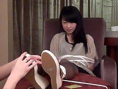 Aziatische Panty Kietelen