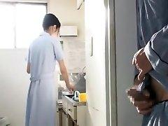 پرستار در بیمارستان در بیماران 2of8 ctoan سانسور