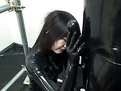 Japanse Latex Catsuit 92