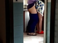 Chinese Milf in the Kitchen (to Start).MP4