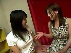 Japanische lesbische Mädchen