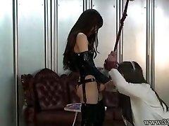 Ιαπωνικά Αφέντρα Emiru BDSM Strapon, Γαμώτο