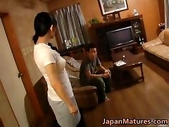 Horny japanese mature babes fellating part4