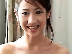 اسیایی, ژاپنی, دوست دختر, خیس