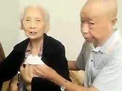 Chinese Older Couple