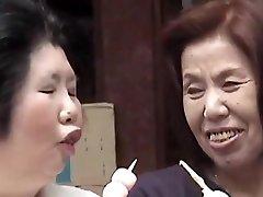 sati мичико - lesbian, asian granny