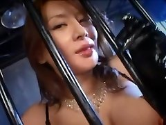 Greatest Japanese girl Rei Kitajima in Crazy Cum-shots, Blowjob JAV clip
