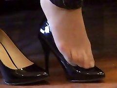 אסיה מים (ניילון) מטר shoeplay עם עקבים גבוהים