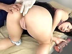 Asian anal toy and fist