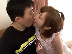 Cool Japanese model Mei Kago in Nasty Diminutive Tits, Doggy Style JAV video