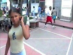 Dominican-thai student schoolgirls compilation