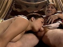 Japanese Youthful Girl Casting made by Older & Fat Grandpa