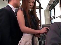 Naughty Japanese girl Minori Hatsune in Epic Outdoor, Upskirts/Panchira JAV movie