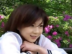 Nurse outfit suits glorious Asian girl Aki Hoshino