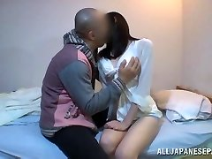 Mira Tamana Asian beauty enjoys hot stance 69