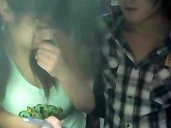 Spycam的年轻女生的私人课程2