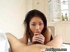 Deep-throats Cock and Spits Jizz part2