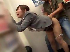 Horny Japanese model Mai Henmi, Ellis Nakayama, Erika Kashiwagi in Killer Public JAV movie
