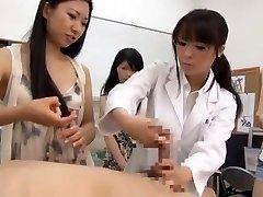 Utrolig Japansk ludder Airi Hayasaka, Kyouko Maki, Sayo Nakamoto i Kåt POV JAV scene