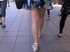 Stunning Legs Walk 006