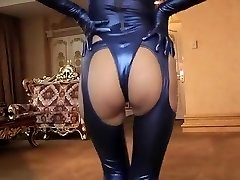 Horny amateur Latex, Fetish hardcore scene