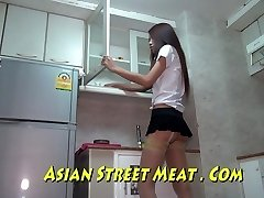 Bangkok Rommet Stuepike Buggered For Ny Veske
