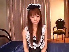 JAPANSK HUSHJELP DP CREAMPIE