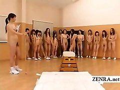Naturist Japan futanari dickgirls and cougar gym teacher