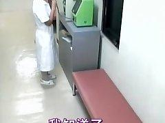 Delicious nurse creampied in spy cam medical movie