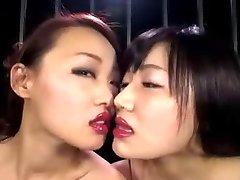 Japansk Lesbisk Leppestift Kiss II