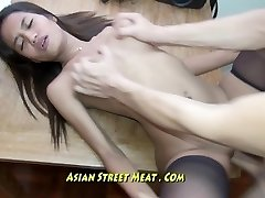 Pure Petite Bugger Bitch Gets Thai Membranes Humped