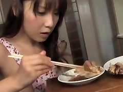 Momo Aizawa has shaven twat ate and fucked
