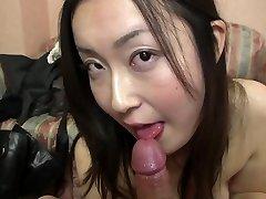 Subtitled Asian gravure model hopeful Pov blowjob in HD